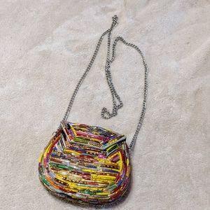 Tiny vintage mosaic bag